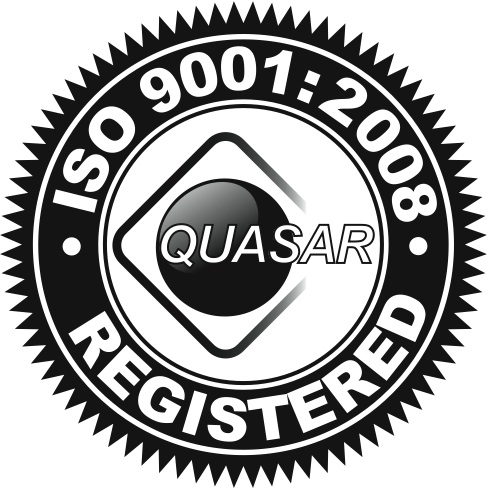 QUASAR ISO 9001:2008 Registered